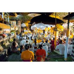 Evening Temple Gathering