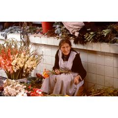 Flower Market in Cochabamba