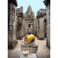 An Altar at Angkor Wat