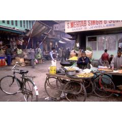 Shrenigar Street Vendors