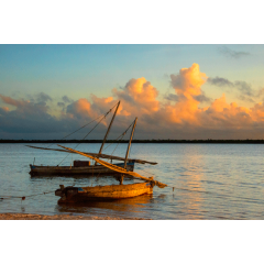 Dhows at Sunrise