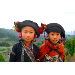 Above their Village