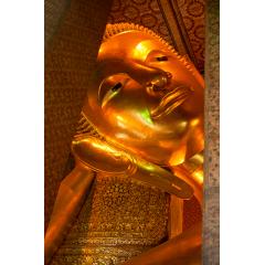 Reclining Buddha Detail