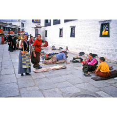 In Front of Jokhang