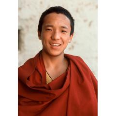 Monk in Zhongdian